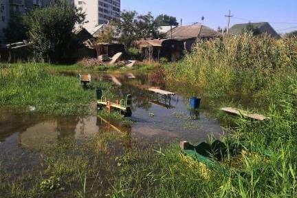 В Волгограде «Концессии водоснабжения» две недели не могут справиться с заливаемым Кировским районом