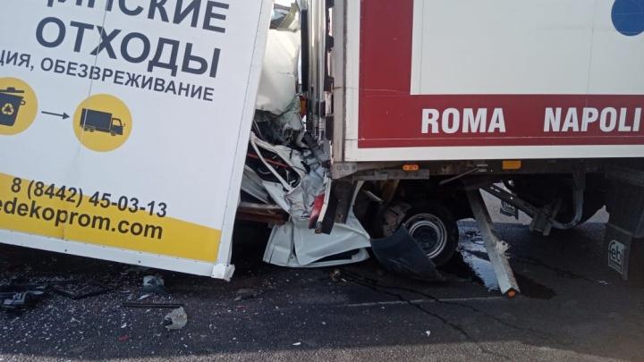 Весной там погибла семья: страшная авария на трассе под Волгоградом — видео