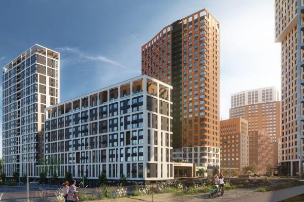Таким будет новый дом «Паркового квартала»