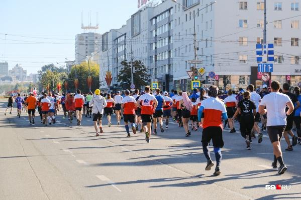 В прошлом году марафон проходил, несмотря на пандемию, но были введены некоторые ограничения