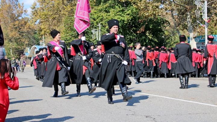 В центре Краснодара на выходных перекроют улицы из-за парада казаков
