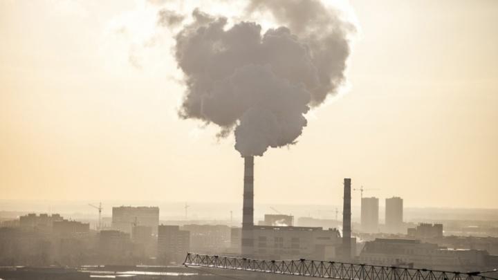 Из-за морозной безветренной погоды в Новосибирске ввели режим неблагоприятных метеоусловий