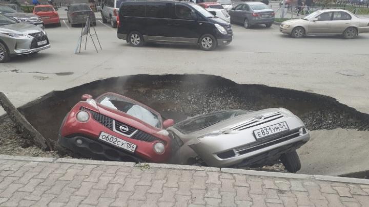 Путь в преисподнюю: как в Новосибирске машины проваливались под асфальт — 7 историй