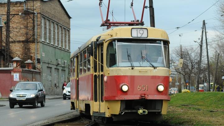 На ВИЗе закроют движение трамваев