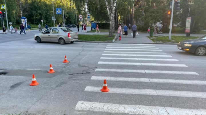 Пенсионер на «Лексусе» в Академгородке сбил 13-летнюю велосипедистку