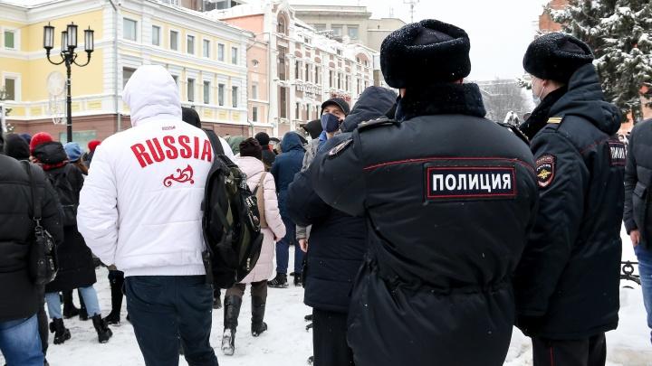 Нижегородского студента задержали по делу о насилии над полицейским на митинге в поддержку Навального