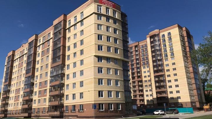 В центре Омска сдали жилой дом. Стоимость «трешки» достигает 6 миллионов