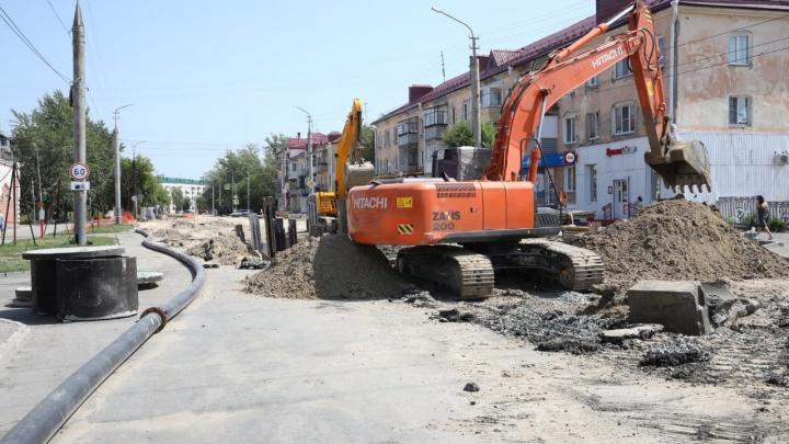 Из-за аварии в Кургане ограничили водоснабжение в пожарную часть Северного района
