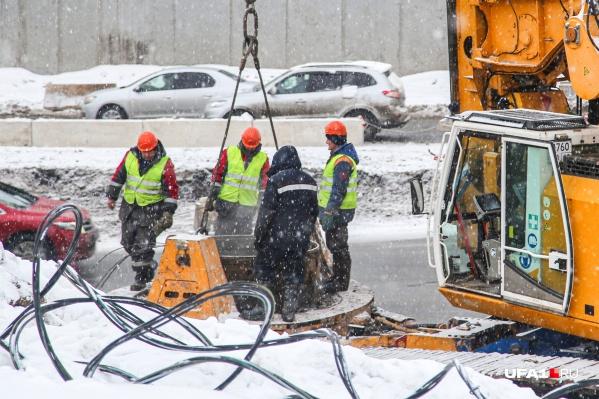 Реконструкция развязки началась еще в январе