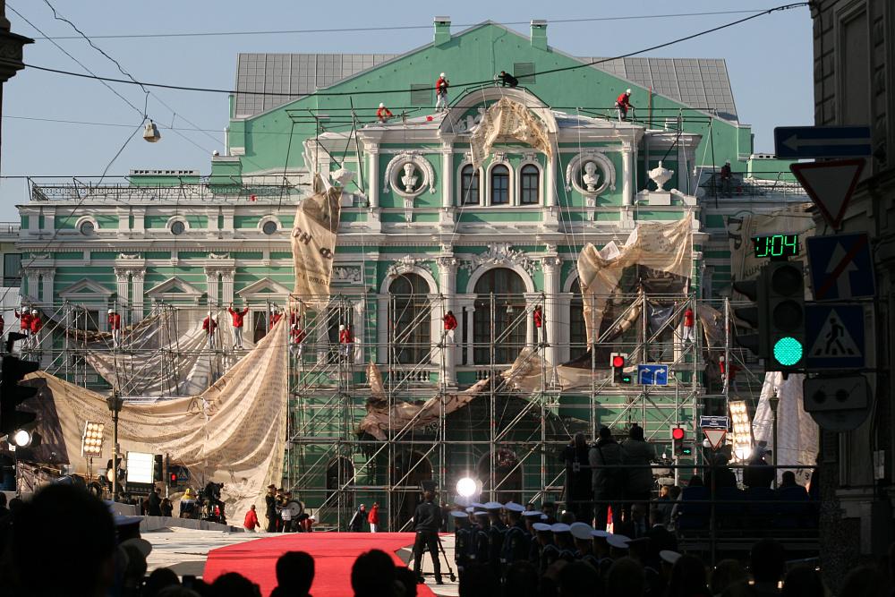 Открытие после реконструкции Большого драматического театра имени Г. А. Товстоногова. Сентябрь 2014 года.<br><br>автор фото Михаил Огнев / «Фонтанка.ру» / архив<br>