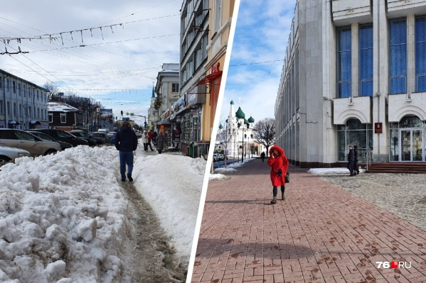 Пейзажи под окнами губернатора и под окнами обычных ярославцев отличаются друг от друга