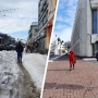 Как в Ярославле убирают обычные улицы и улицы около правительства: 20фото без фильтров