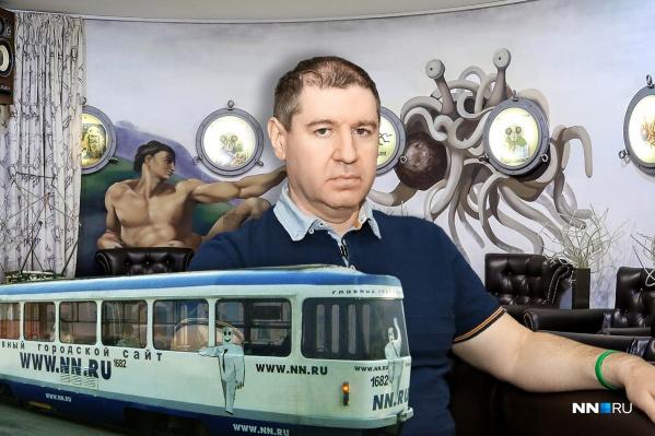 Михаил Иосилевич — основатель портала NN.RU и Храма летающего Макаронного Монстра в Нижнем Новгороде