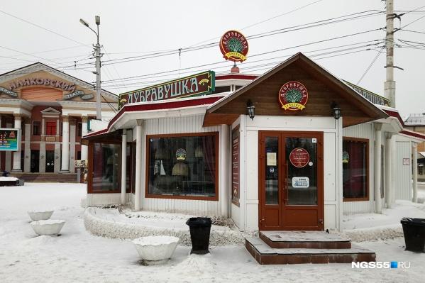 25 лет назад капитальное здание кафе было временным торговым павильоном
