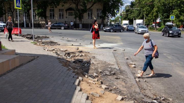 В мэрии Уфы рассказали, когда завершится ремонт бульвара Ибрагимова