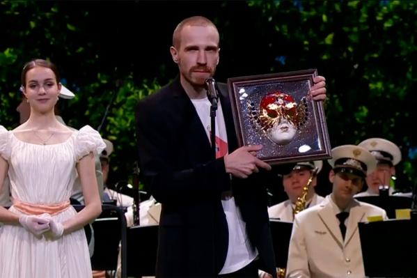 Тимофей Мамлин, артист драматического театра«Старый дом», стал победителем в номинации«Лучшая мужская роль второго плана»