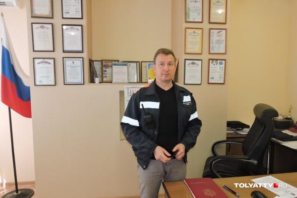 Главного спасателя Тольятти Андрея Дербенева сложно застать в рабочем кабинете, проще увидеть его «в полях»: на авариях, пожарах, наводнениях и других ЧП