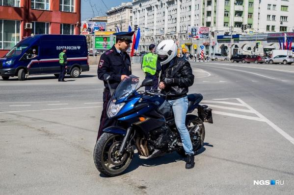 Весной на улицах становится много мотоциклистов, и начинается рост ДТП с их участием