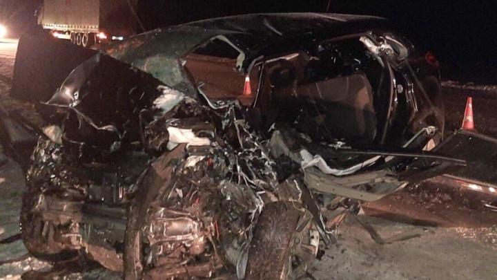 В Тюменской области участник аварии, в которой погибла вся семья, отказался признать вину