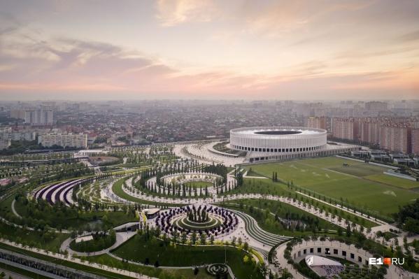 Проектировать парк будут те же архитекторы, которые создавали парк Галицкого в Краснодаре