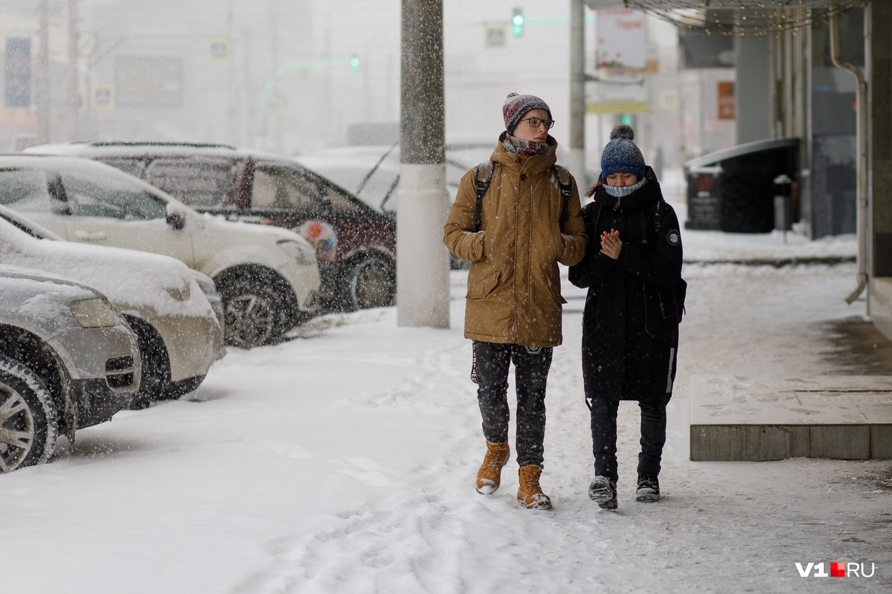 Но были и те, кто искренне радовался снегу