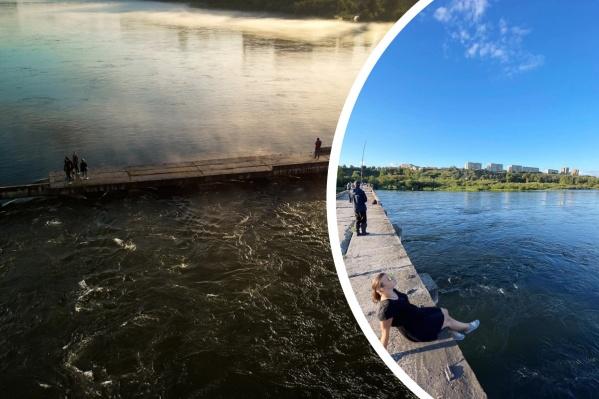 Разговоры о восстановлении моста уже давно ведутся в Красноярске