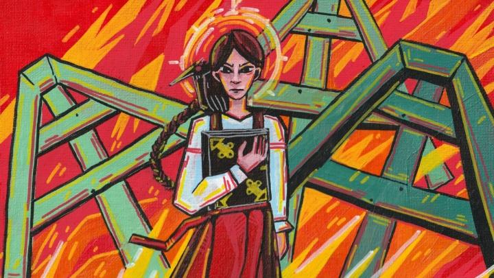 Поклонники создали фан-арт по пермской компьютерной игре «Черная книга». Галерея