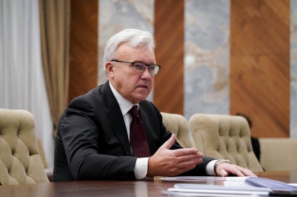 Александр Усс стал врио губернатора в 2017 году, а губернатором — в 2018-м