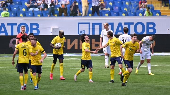 «Ростов» уступил «Краснодару» в последнем матче сезона. Онлайн-трансляция южного дерби