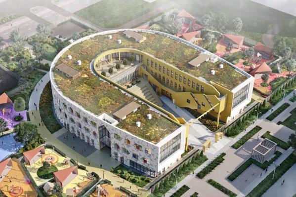 В Екатеринбурге построят первый садик с террасой на крыше