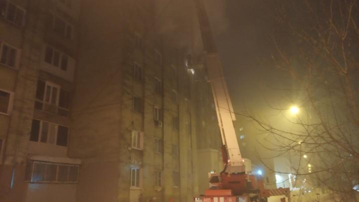 В Перми на пожаре в многоквартирном доме погиб человек