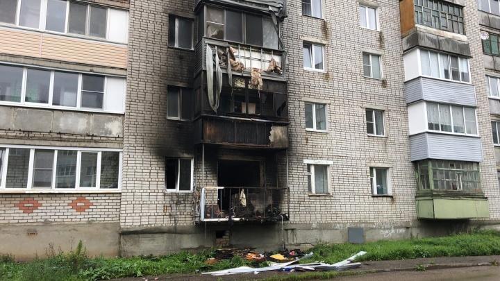 В квартире было двое: в полиции рассказали, как вспыхнул пожар в пятиэтажке