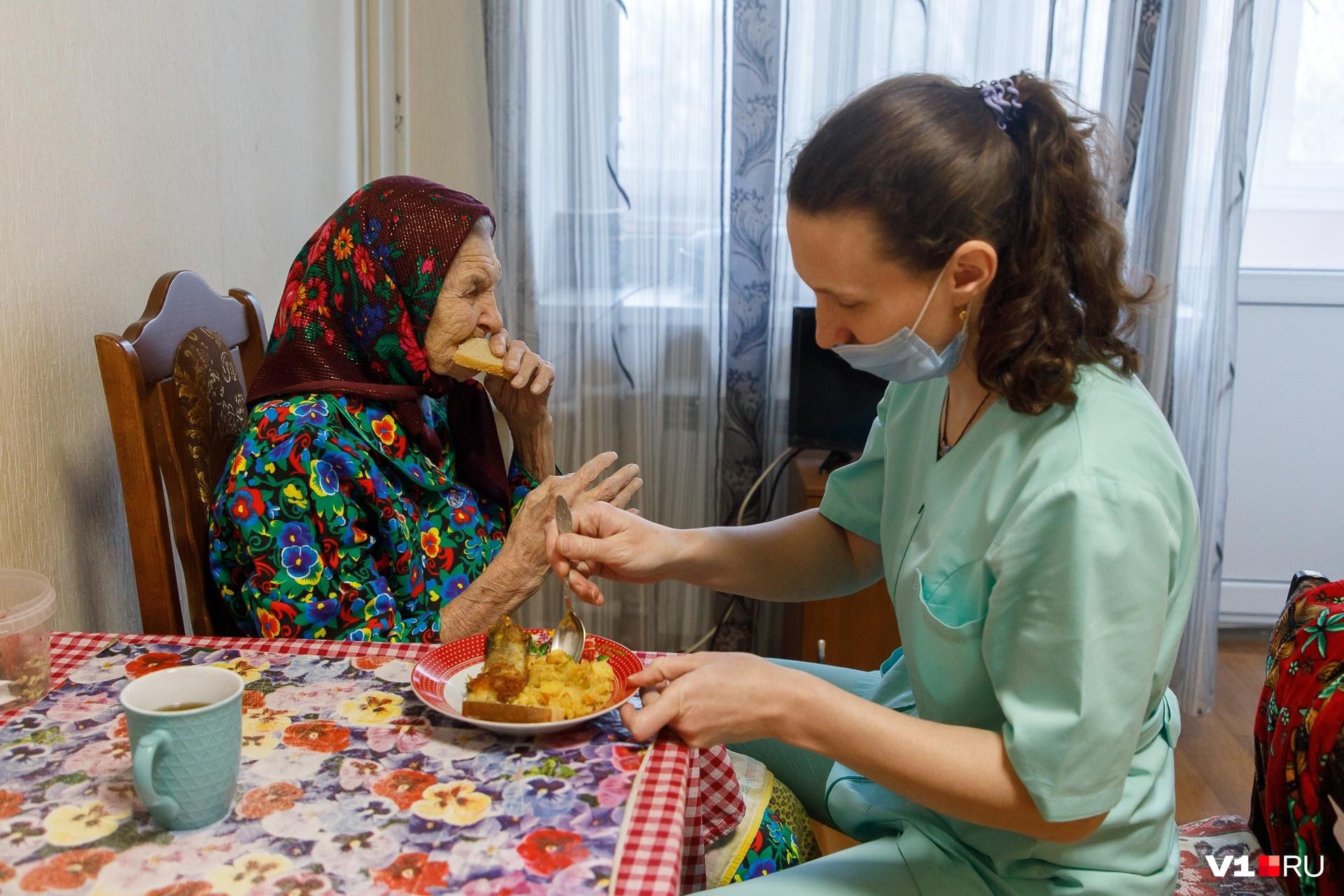 Любимица бабушки Лизы — медсества Екатерина Федосеева