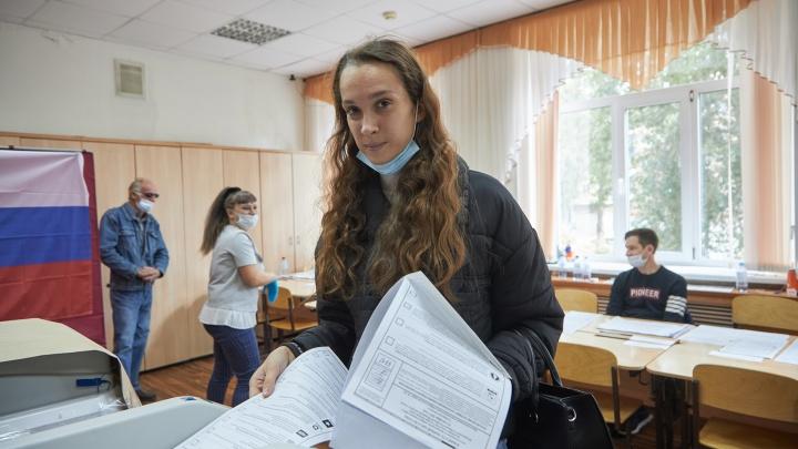 Воронеж голосующий: фоторепортаж с избирательных участков