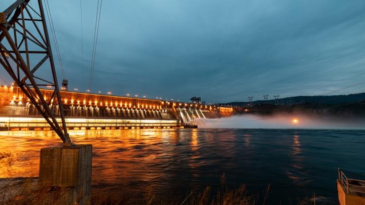 Решено отказаться от увеличения сброса воды на Красноярской ГЭС