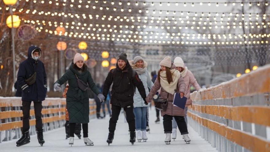 Каток в Парке Терешковой в этом году планируют открыть к ноябрьским праздникам