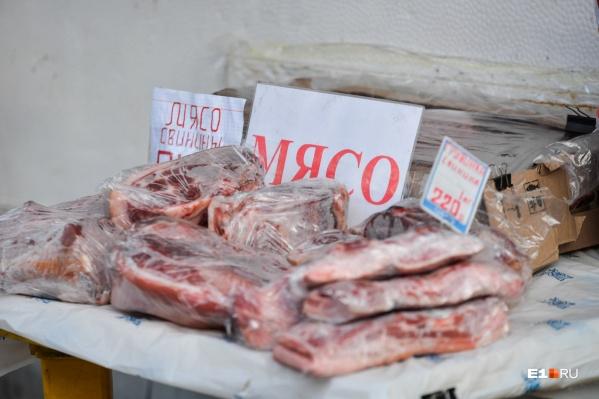 Выросли цены на говядину, свинину, курицу и рыбу