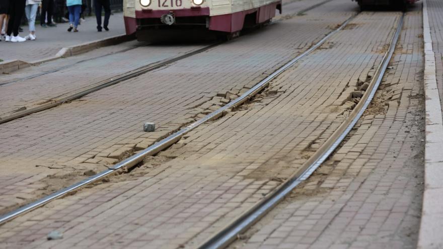 Движение трамваев на вокзал в Челябинске закроют на полтора месяца