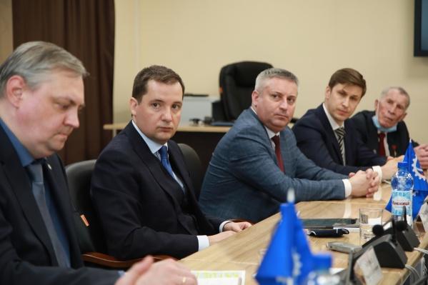 Александр Цыбульский на встрече с северодвинцами