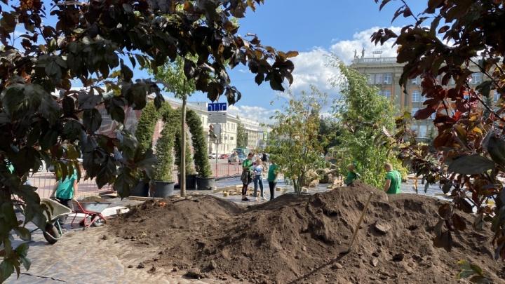 Вице-мэр Екатерина Сибирцева заявила, что парковку на площади 1905 года могут закрыть навсегда
