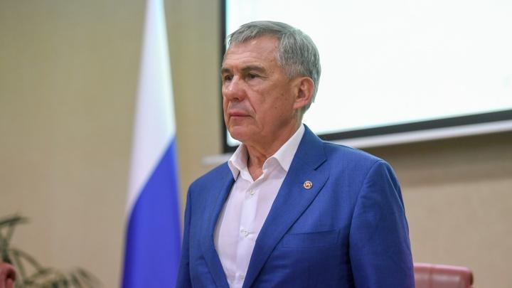 В Пермь приехал президент Татарстана Рустам Минниханов