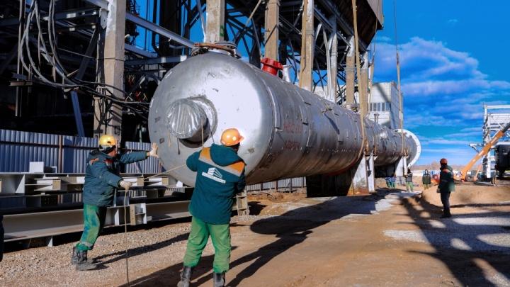«Стройку ни разу не останавливали»: в Тольятти возводят ключевой объект химической промышленности