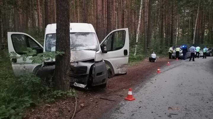 На Урале пьяный водитель врезался в дерево и насмерть придавил свою 5-летнюю дочь, которую вез на коленях