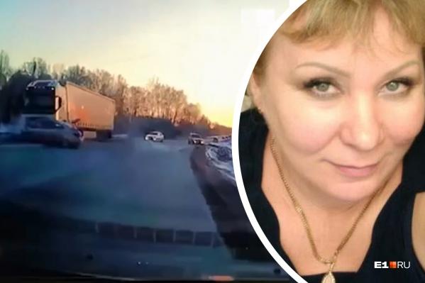 KIA, за рулем которой находилась Людмила Филиппова, столкнулась со встречной фурой