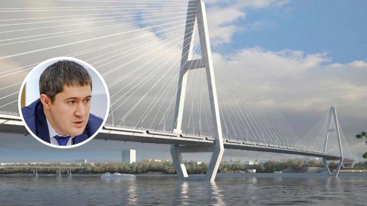«Паническая истерика». Губернатор высказался об иске общественников по поводу выбора места для третьего моста