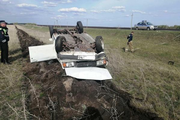 К счастью, пострадал только автомобиль