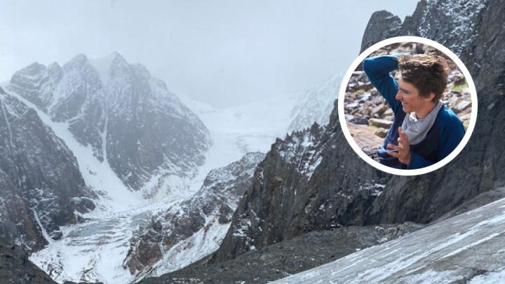 Сибиряк разбился на леднике Актру: показываем, где он погиб