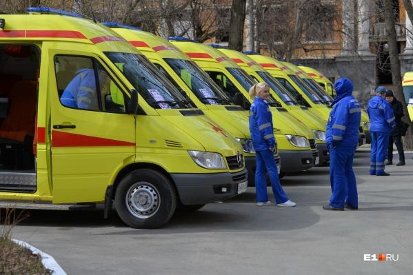Новые машины скорой помощи закроют всю потребность города в этом транспорте