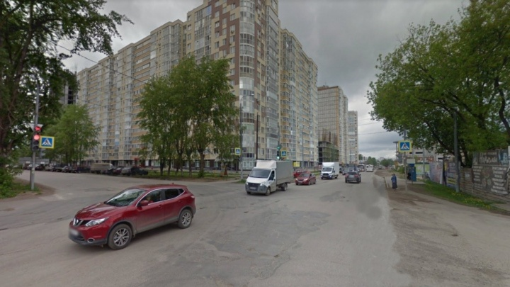 В Перми перекроют движение на пересечении улиц Рязанской и Карпинского и рядом с остановкой «Роща»