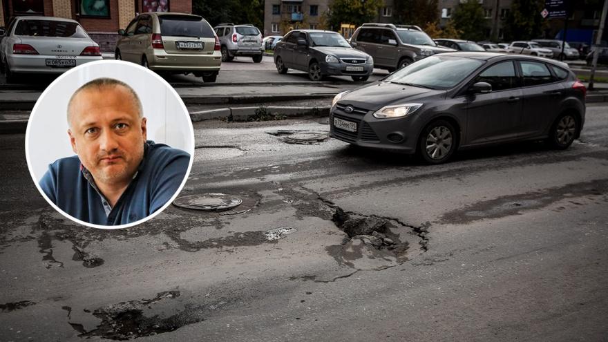 «Исправляют в течение недели». Общественник рассказал, как заставить мэрию быстро ремонтировать дороги